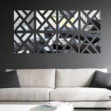 cheap home garden diy buy quality diy solar water pump directly modern geometry mirror wall sticker home art acrylic mural decal decorations
