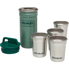 stanley stainless steel shot glass set 2oz backcountry com