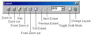layout view zoom layout and printing map about layout view about layout tools