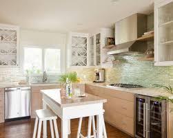 green tile backsplash kitchen green tile backsplash home designs idea