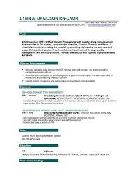 Resume Of A Registered Nurse Good Nursing Resume Examples Best 25 Nursing Resume Ideas On