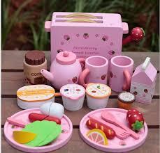 jeux de simulation de cuisine bébé jouets toast grille jouets en bois jeux de simulation