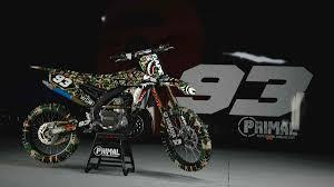 custom motocross bikes full custom graphic kits mx atv primal x motorsports