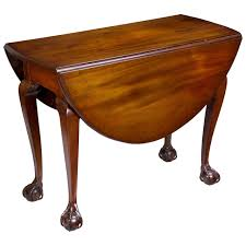 Drop Leaf Table Brace Chippendale Drop Leaf Table With Open Talon Claw And