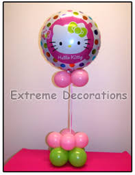Hello Kitty Party Decorations Party Decorations Miami Hello Kitty Balloon Party Centerpieces