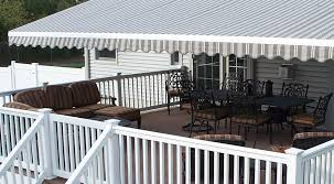 Replacement Retractable Awning Fabric Massachusetts Awning Sunsetter Nuimage And Sunesta