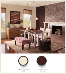 colorfully behr turn heads with oxblood