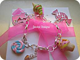 birthday charm bracelet charm bracelet sterling silver sweet by jewlesdesigns