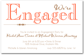engagement party invitation wording coral were engaged party invitations engagement party announcement