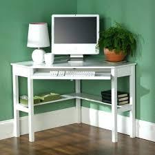 White Computer Desks For Home Small Computer Desk Canada Outstanding Corner White Regarding