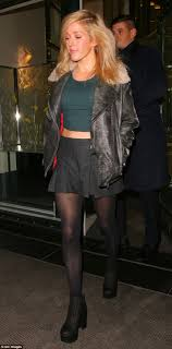 Style Ellie Goulding Stepping Out In Style Ellie Goulding Donned An Autumnal Ensemble As
