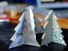 christmas tree decorations using recycled materials home decorations