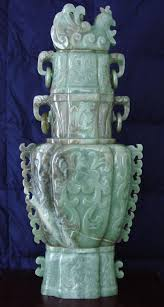 Jade Vases Monumental Chinese Jade Vessel Chinese And Other Asian Art