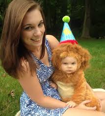 Baby Lion Costume Baby In Lion Costume Looking Annoyed Justpost Virtually