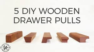 do it yourself kitchen cabinet knobs 5 diy wooden drawer pulls how to make cabinet handles