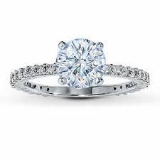jareds wedding rings jared s diamond ring setting 3 8 ct tw cut 14k white gold