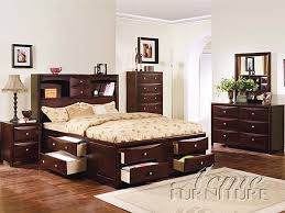 Full Beds With Storage Manhattan Collection Full Size Storage Bed With Wooden Platform