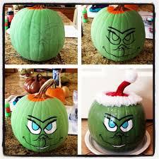 my pumpkin i turned grinch acryllic paint modge podge