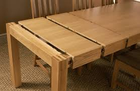 expandable dining table plans orly oak 5 ft extending dining table extends to woodworking