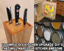 12 simple diy kitchen upgrades that will make your kitchen awesome