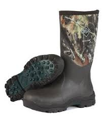 s muck boots size 9 muck boots s woody max outdoor boot camo bark size 9 s ebay