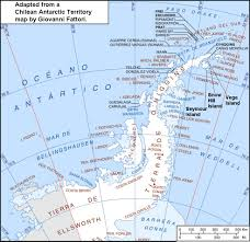 Antartica Map Marine Fossils From Antarctica