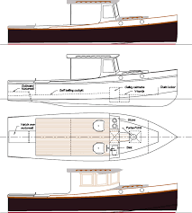 Classic Wooden Boat Plans Free by Salty 29 A Low Powered Custom Wood Boat