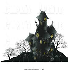 spooky cemetery clipart royalty free creepy house stock avenue designs