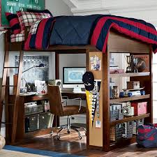 Study Bunk Bed Sleep Study Loft Pbteen