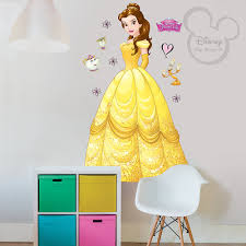 Large Wall Stickers Uk Buy Unique Designing Disney Belle Large Wall Sticker Online Shop