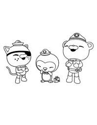 octonauts coloring pages kids