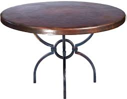 copper top dining room tables logan dining table with 48