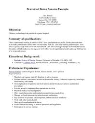 nursing graduate resume template excellent new nursing graduate resume template pictures