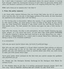 Avengers Kink Meme - random tumblr posts page 284 kiwi farms