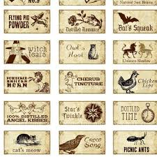 miniature dollhouse fantasy potion labels i for tiny witch dolls