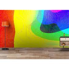 buy large size modern 3d nature wallpaper for walls online