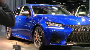 2018 lexus gs350 f sport lexus gs f 2018 washington dc auto show 2017 youtube