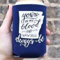 koozies for weddings southern wedding favors custom wedding koozies