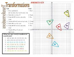 reflection rotation translation worksheet worksheets