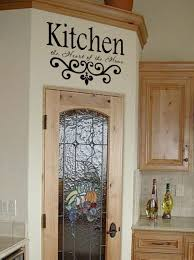 kitchen wall quote vinyl decal lettering decor sticky kitchen