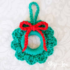 crochet ornaments skip to my lou