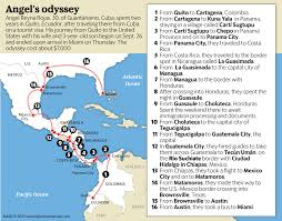Crime Map Miami by New Exodus Of Cubans Headed To The U S Is Underway Across The