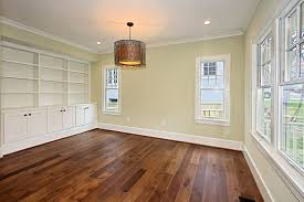 custom stained hickory flooring traditional bedroom