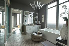 bathroom modern master bathrooms using frameless mirror and