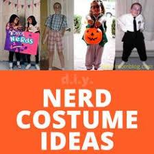 Homemade Nerd Halloween Costumes Dress Nerd Homemade Nerd Costume Idea Halloween