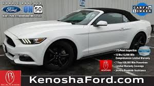pre owned ford mustang convertible certified pre owned 2015 ford mustang v6 convertible in the