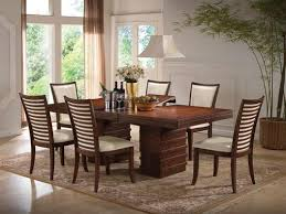 Transitional Dining Room Sets Acme Furniture Pacifica Casual 7 Piece Transitional Dining Table