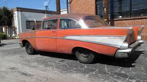 fuelie 1957 chevy bel air barn find