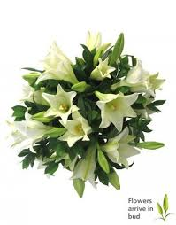 Bouquet Of Lilies Bouquet Of White Lilies In Durban South Africa Durban Florist