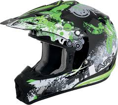 youth motocross helmets afx fx 17y youth off road motorcycle helmet stunt green